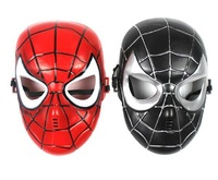 Free shipping The Avengers Spider-Man Mask Children's Toys Cartoon Animation Masks Plastic Cosplay Props