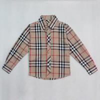 Boys Brand Full Sleeved Shirts Plaid Boy Cotton Shirt Celebrity Casual Kids Clothing Top Quality boys shirts Children S06