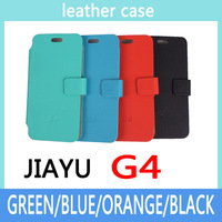 Jiayu G4 G4C G4S Case cover Good Quality Top Open PU Flip case cover for Jiayu G4 G4C G4S cellphone free shipping