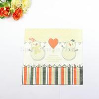 1 Pack 20 PCS Christmas Series Colorful Party Paper Napkin 33X33CM Pattern 16