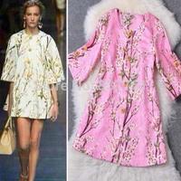 2014 autumn women's fashion three-color peach blossom overcoat women slim trench coat  cardigan coat female 3color freeshipping