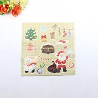 1 Pack 20 PCS Christmas Series Colorful Party Paper Napkin 33X33CM Pattern 15