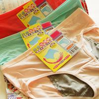 5 bag women's bamboo fibre panties physiological pants cotton female panties safety pants
