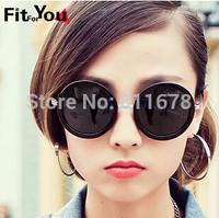 The new 5188 nonmainstream retro sunglasses big prince mirror round round the sun glasses frame sunglasses