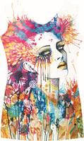 EAST KNITTING    3D  The original SuFeng Personality girl Sleeveless vest   FREE SHIPPING