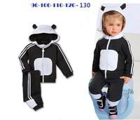 2014 new arrive low price children clothing set children 2 pcs sport suit autumn cloth set hot sale brand AD girls suit