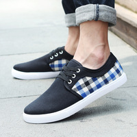 Free shipping 2014 In the spring and autumn Men help quilt casual shoes Sports shoes Canvas shoes Men's singles shoes