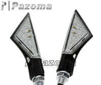 PAZOMA 2x Turn Signal LED  Dual Sport Motorcycle dirt bike supermoto light blinker