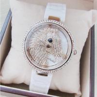 New Design Horse Women Watches! Lady Luxury Fashion Ceramic Strap Band Dress Watches,Women Rhinestone Watch Wristwatch Bracelet