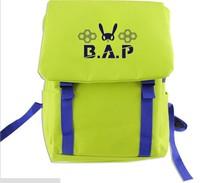 2014 BAP mix and match color schoolbag schoolbag Korean star shoulder bag BAP kpop bap korean b.a.p bag  bap matoki