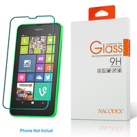 Original Nacodex 9h Hardness Tempered Glass Screen Protector Explosion-proof For NOKIA LUMIA 638 636 635 Free Shipping
