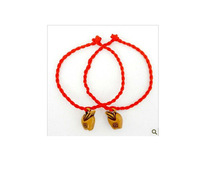 this animal year red rope Apple Modeling  small gifts wholesale safe hand woven hand rope