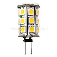 Pack of 2pcs G4 LED Corn Bulb 12V 5W 27x5050 SMD 400-450LM 3000-3500K Warm White Light