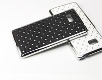 Starry Diamond Bling Shining Stars Hard Case Cover Shell For HTC Desire 600 Dual SIM 606W