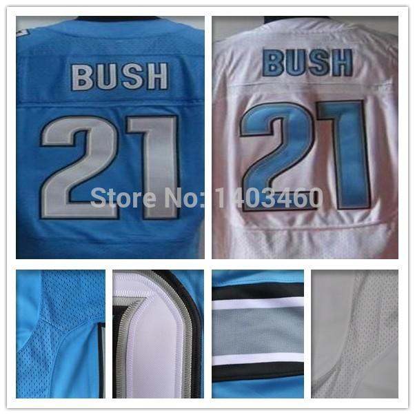 Wholesale 21 Detroit American Football Jerseys Reg