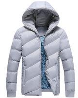 Hot sale men fashion slim fit winter jacket casual men parka outwear 4 colors M-3XL