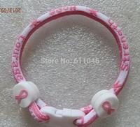 Wholesale Price -- Believe & Faith Hope Breast Cancer Awareness Bracelet  single bracelet Christmas Gift