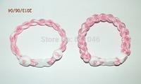 Wholesale Price -- Believe & Faith Hope Breast Cancer Awareness Bracelet 3 ropes  bracelet Christmas Gift