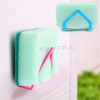 2014 New Eco-Friendly Non-Folding Sponge Holder Suction Portable Wall Mounted Type Storage Holders Racks
