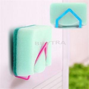 2014 New Eco-Friendly Non-Folding Sponge Holder Suction Portable Wall Mounted Type Storage Holders Racks(China (Mainland))