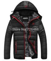men winter jacket men's Down Coat hooded wadded coat winter thickening outerwear male slim casual cotton-padded Hoodies outwear