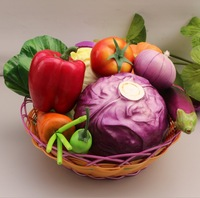 Artificial vegetable model kitchen cabinet decoration furnishings infant artificial vegetables set