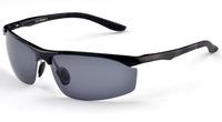 Free shipping Male Sunglasses Polarized Gafas Aluminum Magnesium Alloy Polaroid Sunglasses Men Women Driving Oculos 8179