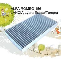 CUK2951 wholesale black carbon car cabin air filter for Alfa Romeo 60653641 auto part 29*19*6cm AC-0123