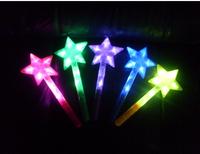 hot selling novelty Luminous five-pointed star stick pentastar Large stick flash stick concert supplies star stick refuels stick