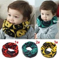 New Style Designer 1 piece Baby Knitting Scarves, Muffler Brand Scarf Kids Girl/Boy Autumn Winter Neck Warmer Rings