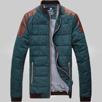 Free Shipping 2015 Warm Autumn&Winter Man Fashion cotton Jacket  75