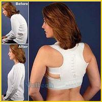 New Power Magnetic Posture Sport Support Corrector Back Belt Band S-XXL Shoulder Brace Chiropractic Vest Opp bag