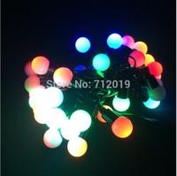 DHL FREE 30M 6W with EU plug LED String Light led Christmas/Wedding/Party Decoration Lights 9 colors AC220V
