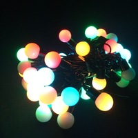 LED String Light 220V 15M 6W with EU plug Changeable,red, yellow,blue,green,white,warm white,pink,purple.