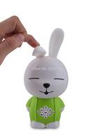 Alilo A2 Children's Learning & Education Machine Russian language Cute Rabbit MP3 Player(Green)