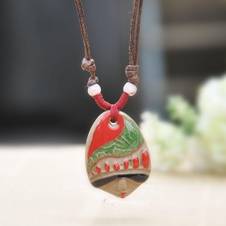 cerâmica estilo folk jóia por atacado beleza cara jingdezhen vidros retro cabeça da boneca(China (Mainland))