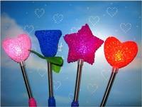 hot selling Rose lights flashing wholesale party glo-sticks stars stick light shake stick rice light head rose light particles