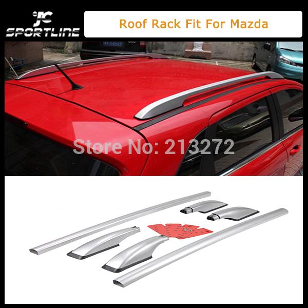 Багажник на крышу JC Sportline 2003/2010 + ABS , Mazda 3 багажник на крышу lux kia spectra 2005 2010 1 2м прямоугольные дуги 692995