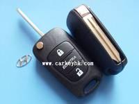 20pcs/lot  Hyundai Elantra flip remote key blank shell cover case fob HYN14 blade