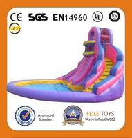 inflatable slide for pool/inflatable water slide for kids