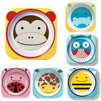 2014 Fashion Super Children's Tableware Cute Baby Appetite Safety Melamine Bowl Novelty Feeding Dish Skp Animal Freeshipping
