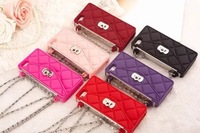 With Retail Box Luxury Soft Silicon Mirror Case For iPhone 5 5S 4 4S Purplish Red/Red/Hot Pink/Pink/Purple Mirror Cases