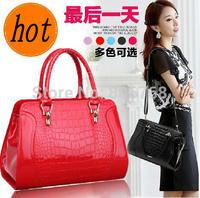 Hot Sale New 2014 Fashion Desigual Brand Crocodile Women Handbag Leather Shoulder Bags Women Messenger Bags Totes