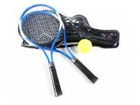 1 Pair Regail W150 Child Tennis Racket Training Tennis Racquet Blue Aluminum Alloy
