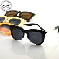 4colors new style black frame gold leg sunglasses women mens sunglasses brand designer vintage glasses oculos de sol feminino