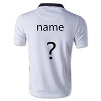 TOP Thailand Quality New 14 15 Away White Soccer Jersey 2015 Van Persie Rooney Nani Mata AWAy Football Shirts