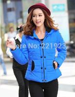 2014 down cotton-padded jacket slim design women's short cotton-padded jacket outerwear