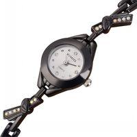KIMIO Watch& Black Stainless Steel High Range Female Bracelet Watches Full Steel Female Business Brand Watches