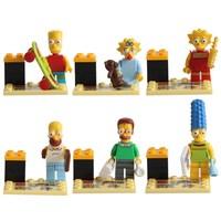 Building Blocks Sets Anime Movie The Simpsons Action Figures Minifigures Bricks Blocks