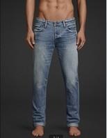 30 Choice! HCO men hollistic jeans solid casual name brand men's long denim jeans blue pants trousers Size 30-36